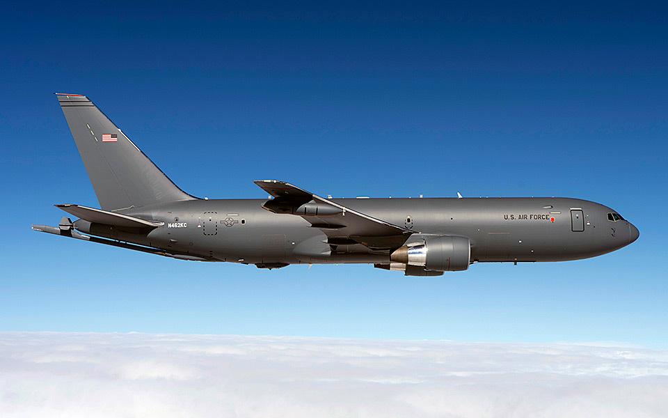 為汰換現役的空中加油機KC-135R,美國空軍再度斥資約21億美元(約合港幣幣164億元),採購15架波音公司產製的KC-46A。(波音公司)