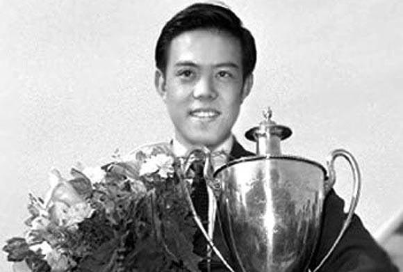 容國團為中國奪得第一個體育世界冠軍。(網絡圖片)