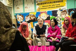 曾俊華:政府應給予少數族裔平等發揮機會