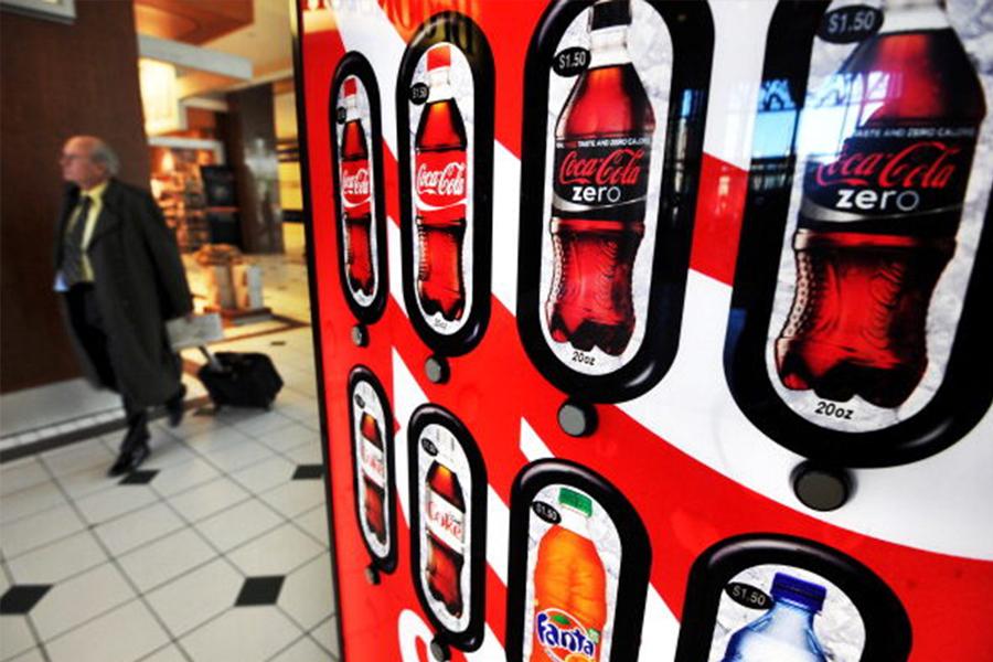據研究,含糖汽水是導致肥胖症的一大原因。(JEWEL SAMAD/AFP/Getty Images)