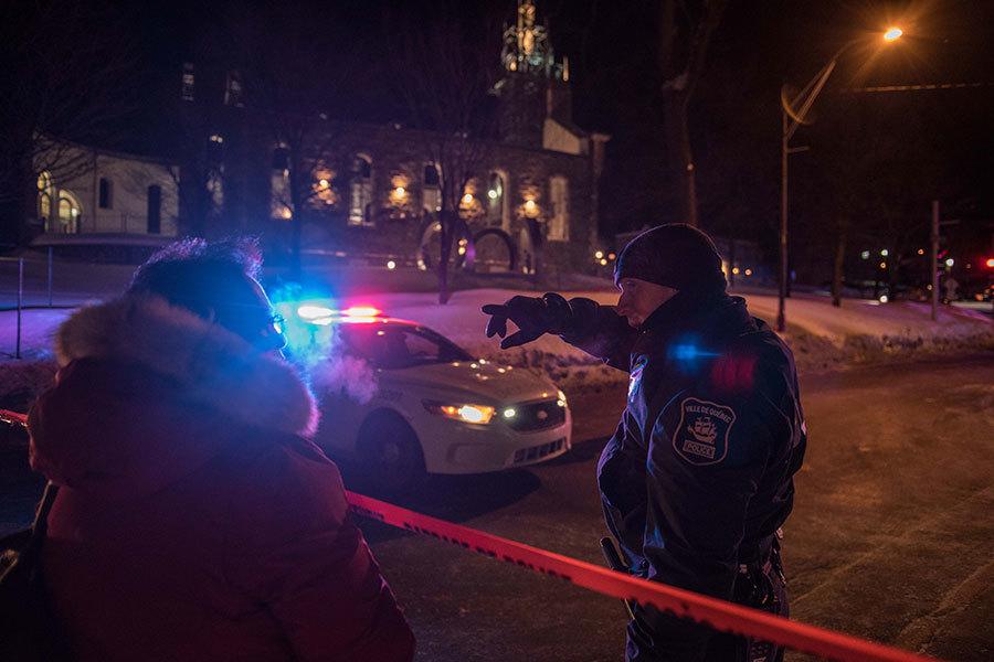 加拿大魁北克市警方表示,周日(29日)晚,魁北克市一座清真寺發生槍擊事件,大約有6人死亡,多人受傷。(Getty Images)