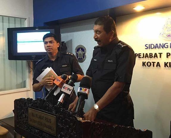 馬來西亞警方發佈沉船消息。(網絡圖片)