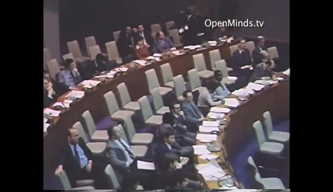 聯合國在1978年11月召開UFO聽證會。(YouTube視像擷圖)
