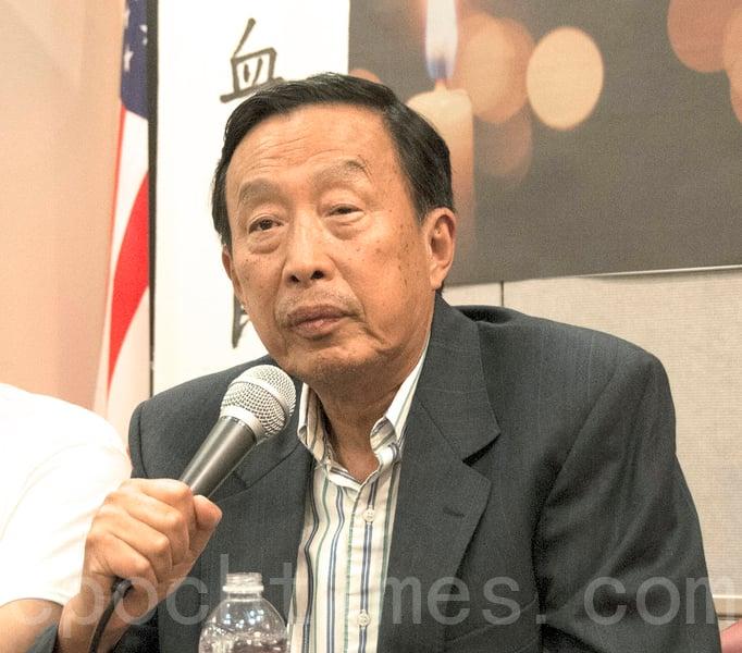 2016年6月4日,羅宇在三藩市紀念六四「說出真相、拒絕遺忘;呼喚良知、尋求正義」研討會上發言。(周鳳臨/大紀元)