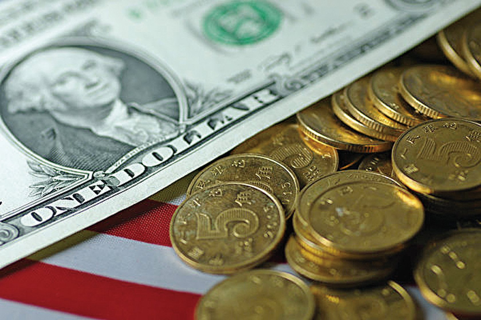 離岸人民幣匯率月初一度大漲,但是市場仍然預期人民幣將貶值。(大紀元資料室)