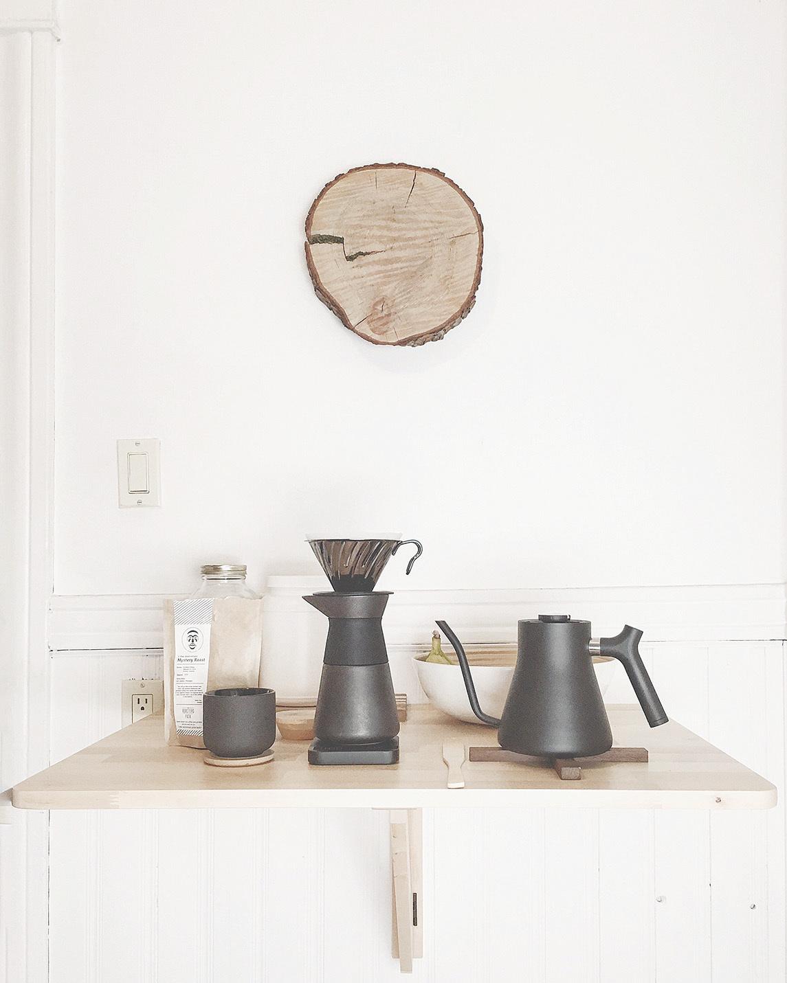 咖啡角落可為家居營造溫馨氣氛。(網絡圖片)