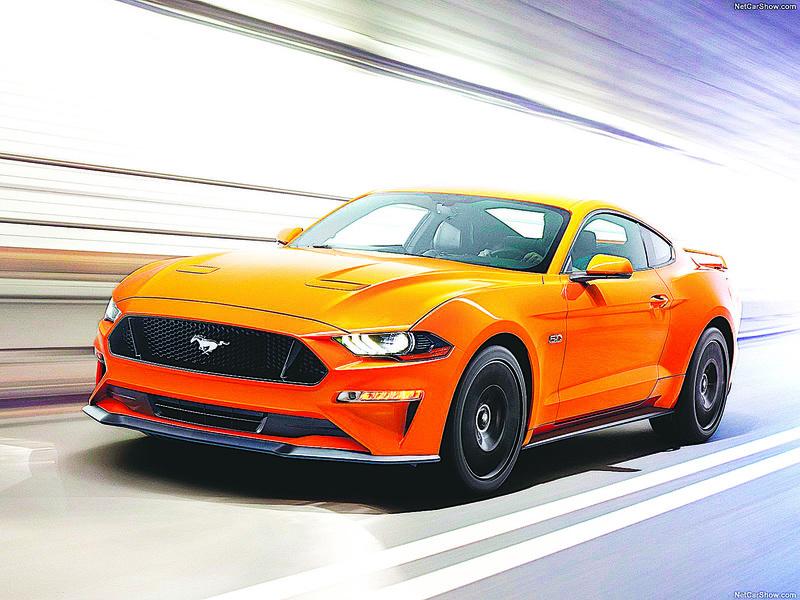 2018年款Ford Mustang亮相 9大改變 V6引擎不見了