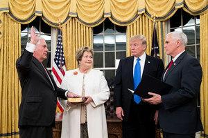 蒂勒森獲美參議院通過 正式成為國務卿