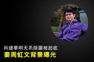 肖建華明天系版圖被起底 妻周虹文背景曝光