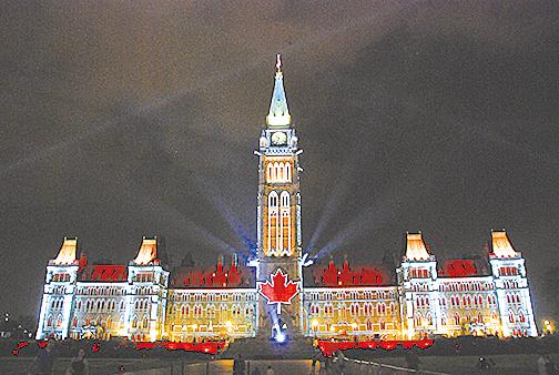 加拿大首都渥太華風景。(大紀元資料圖片)