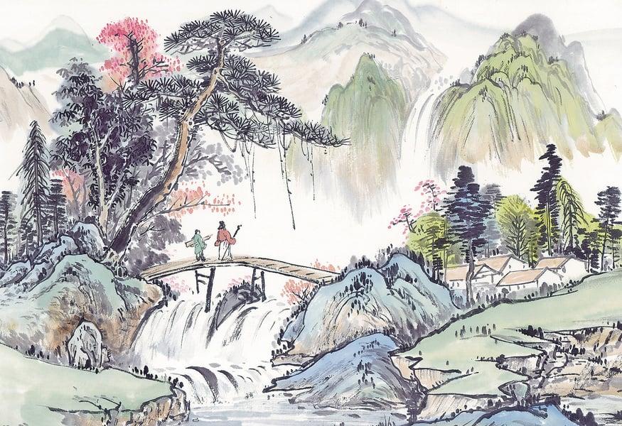 【寫作叢談】山水有清音──談古典詩詞的山水意象