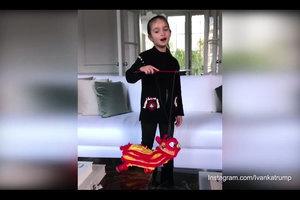 唱中文歌向華人拜年 特朗普小外孫女火爆網路