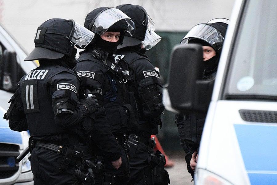 德國反恐大搜查 抓捕四疑兇