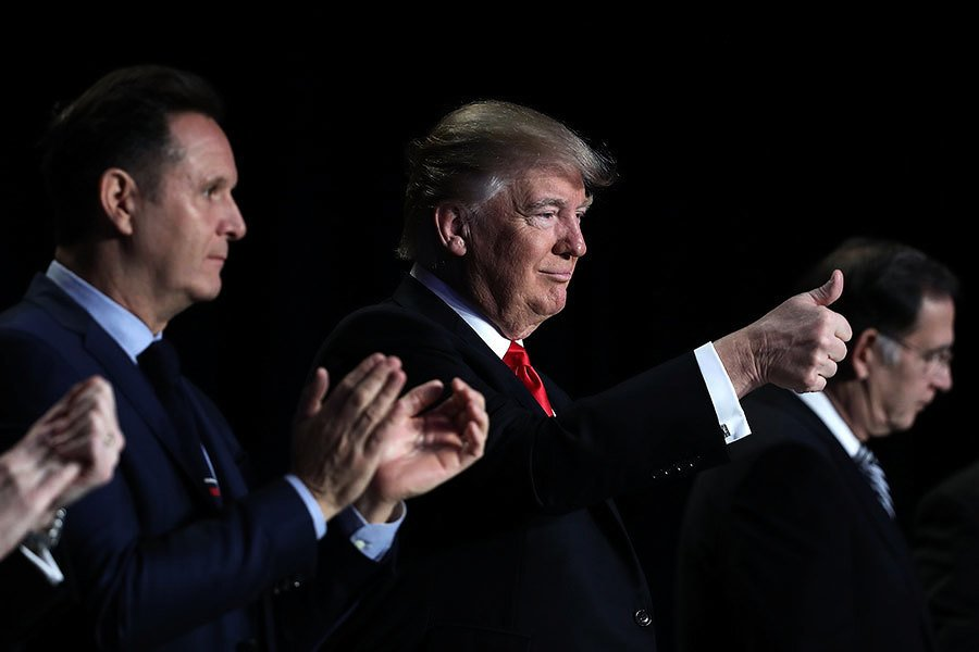 保護難民 特朗普與阿拉伯領袖談敘利亞安全區