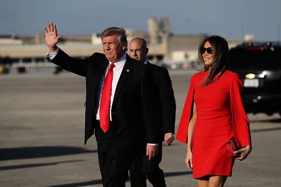特朗普去佛州「冬季白宮」過周末 舉行會議