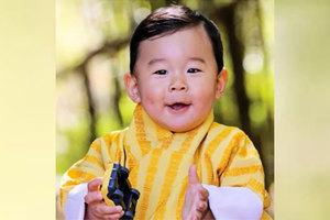 不丹小王子一歲了 萌照偷走你的心