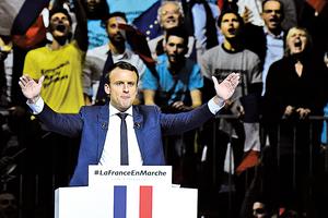 法總統大選民調:中間派馬克隆有望勝出