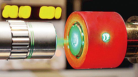 關鍵問題是,經壓縮的氫能否在室溫下維持金屬屬性,而這會使其成為非常有用的超導體。(官方圖片)