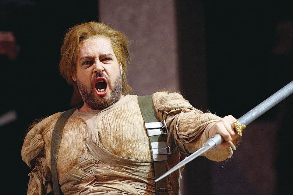 歌劇中齊格弗里德(Siegfried)的角色。(Getty Images)