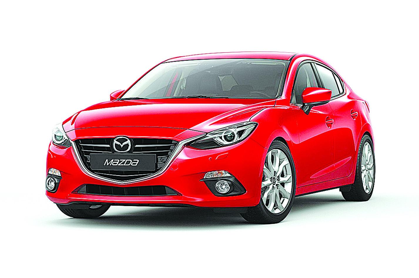 配置第2代Skyactiv引擎的Mazda 3,燃油經濟性相當驚人。(Mazda)