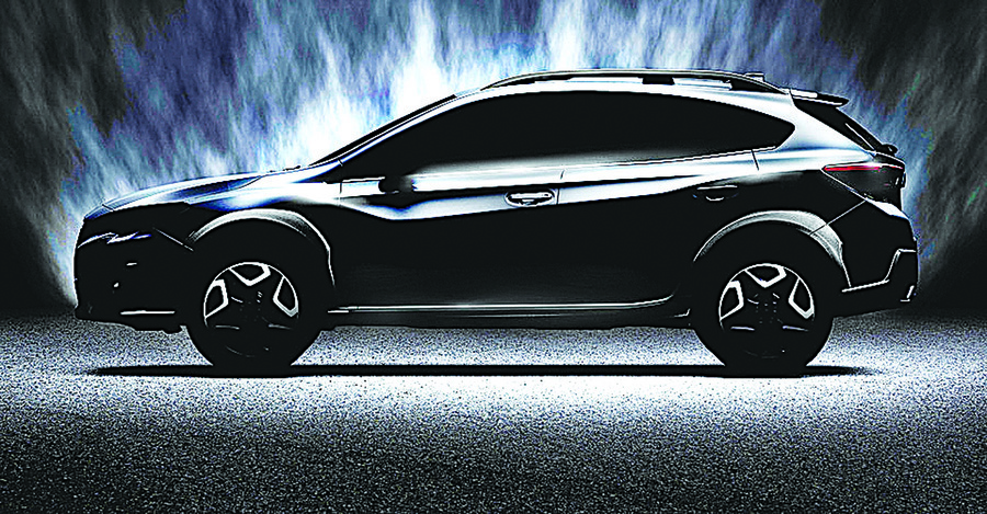 次世代跨界休旅Subaru XV將於日內瓦車展現身