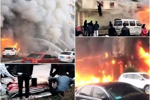 浙江足浴店發生大火 至少18死18傷