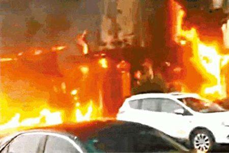 現場火勢凶猛,已致18人死亡。(網絡圖片)