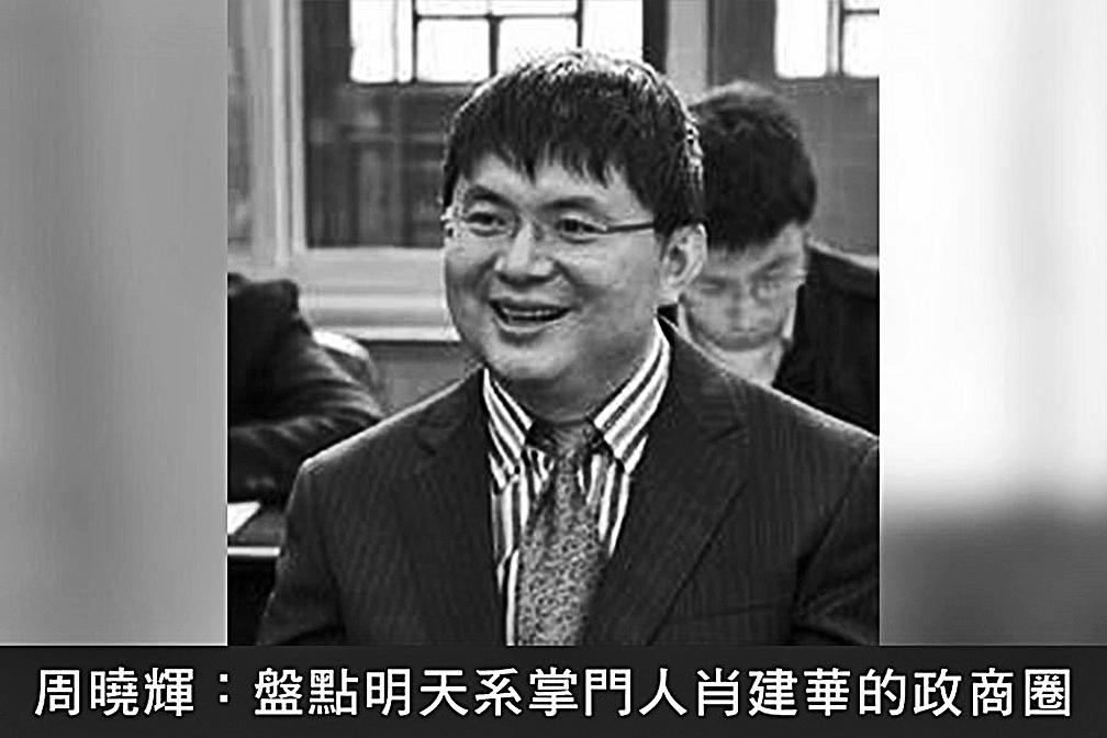 「明天系」集團掌門人肖建華。(網絡圖片)