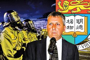 馬斐森辭任港大校長 明年五大院校管理層更替