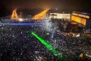 民怨難熄 羅馬尼亞五十萬人上街促政府下台