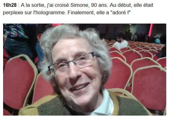 90高齡選民Simone也關注政治。(網絡擷圖)