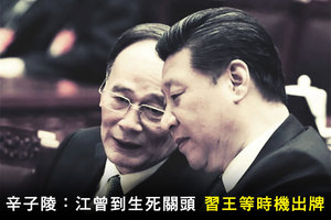 辛子陵:江曾到生死關頭 習王等時機出牌