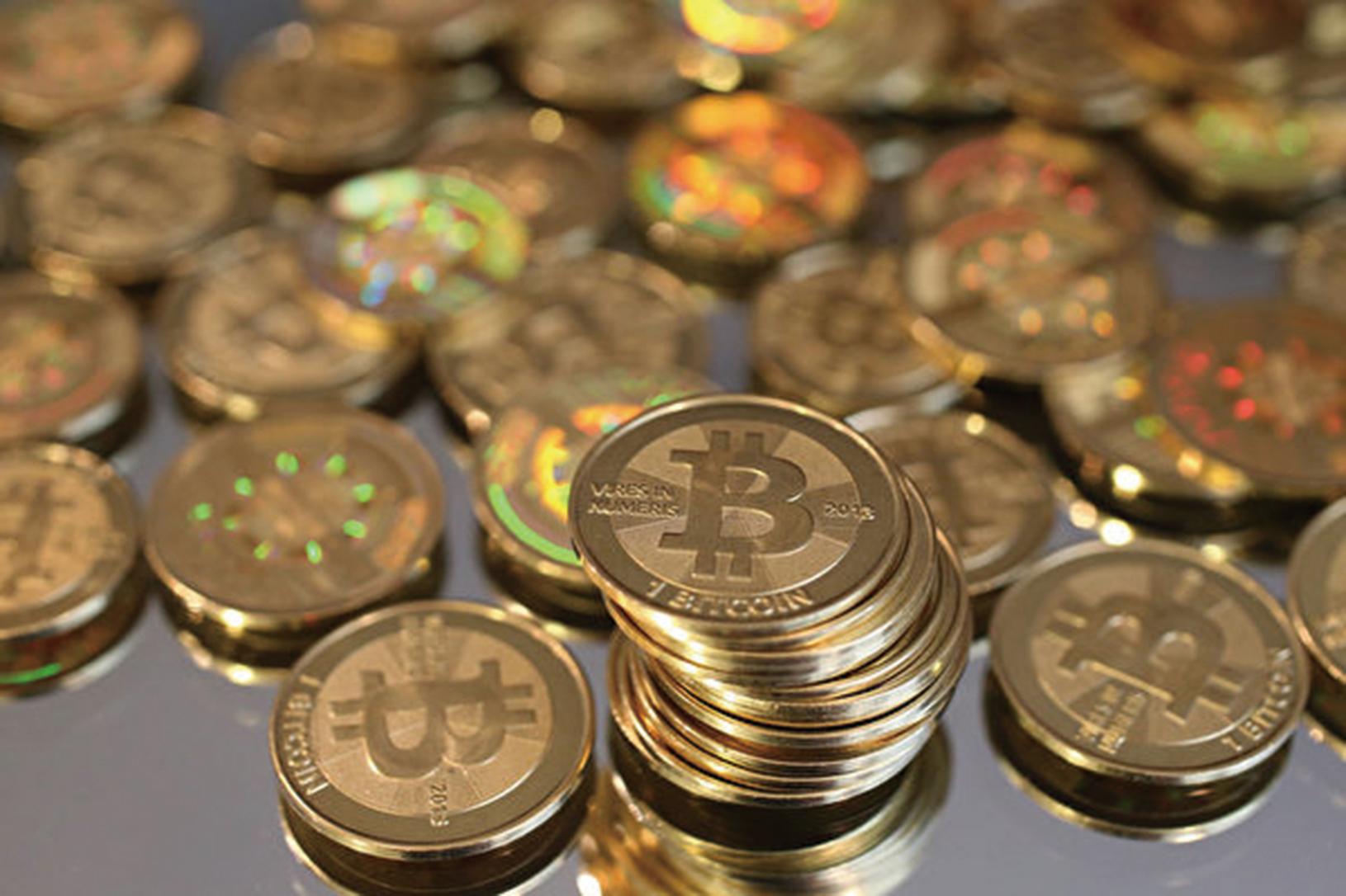 中共公佈1月中共外匯儲備之後,中國的比特幣交易開始上升。(George Frey/Getty Images)