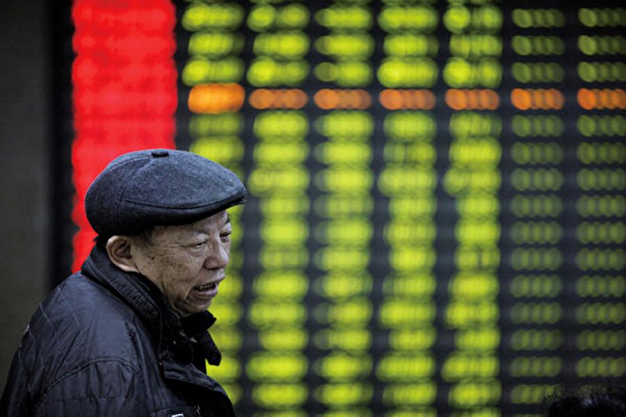 大陸股市持倉投資者跌破5,000萬