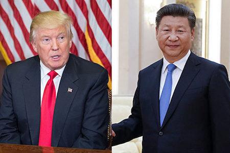自正式上任以來,美國總統特朗普(左)已經同10多位其它國家領導人通了電話。白宮近日公佈了一份16人的名單,不過,習近平(右)並不在此列。(NICHOLAS KAMM/AFP/Getty Images)