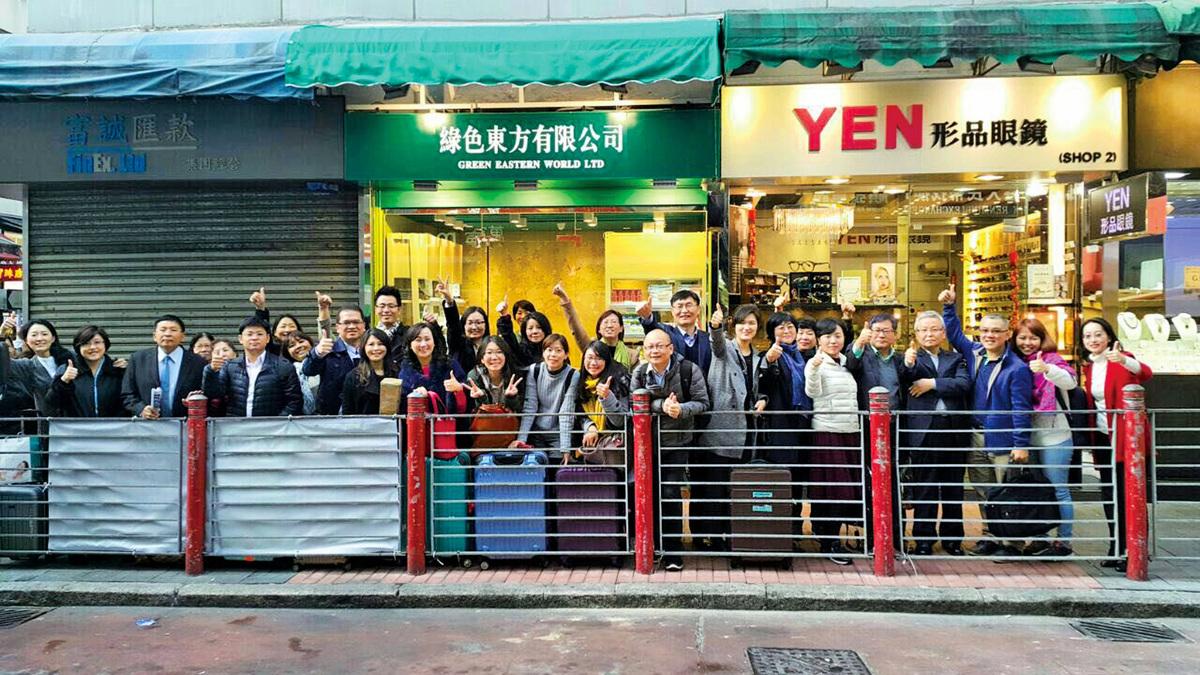 圖:來自不同國家地區的優質保健品的廠商親自到訪綠色東方首間概念店。