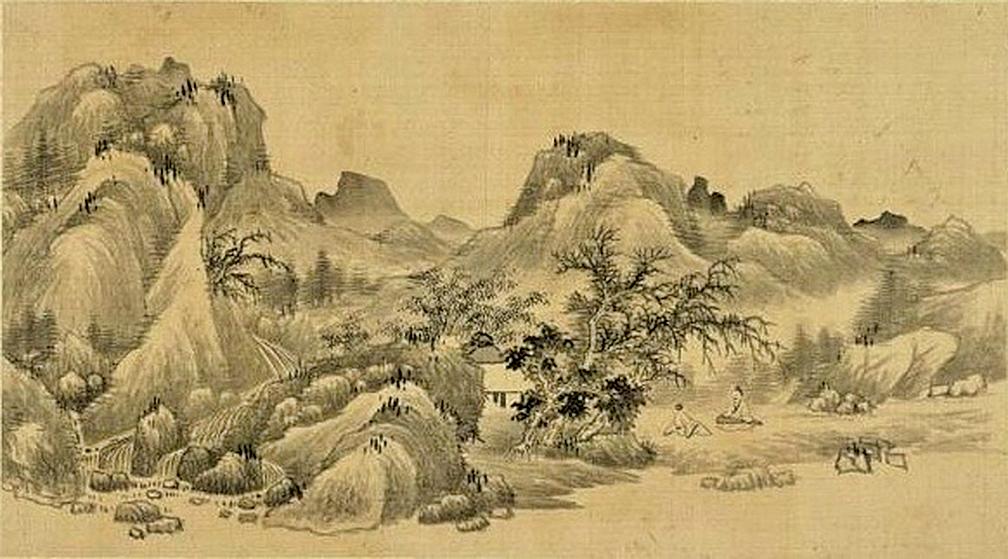中國山水畫(fotolia)