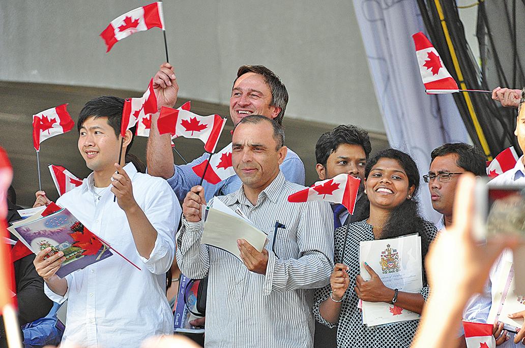 再過20年,加拿大一半的人口將是移民或移民後代。(大紀元資料圖片)