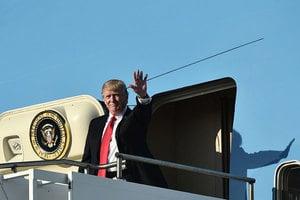 特朗普十一月將訪亞洲 出席三場峰會