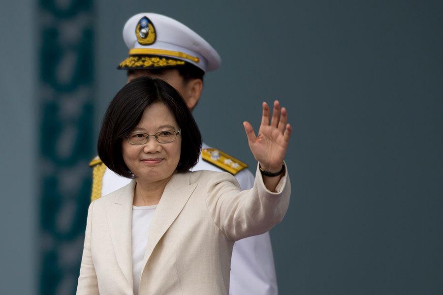 美國國會9日發佈報告說,北京以終結與台灣「外交休兵」的手段,壓縮中華民國的國際空間,迫使蔡英文總統接受「一個中國」原則。(Ashley Pon/Getty Images)