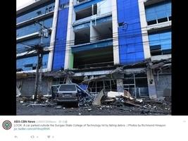 菲律賓南部6.7級強震 最少四死逾百傷