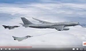 俄轟炸機迫近領空 英法西戰機緊急攔截