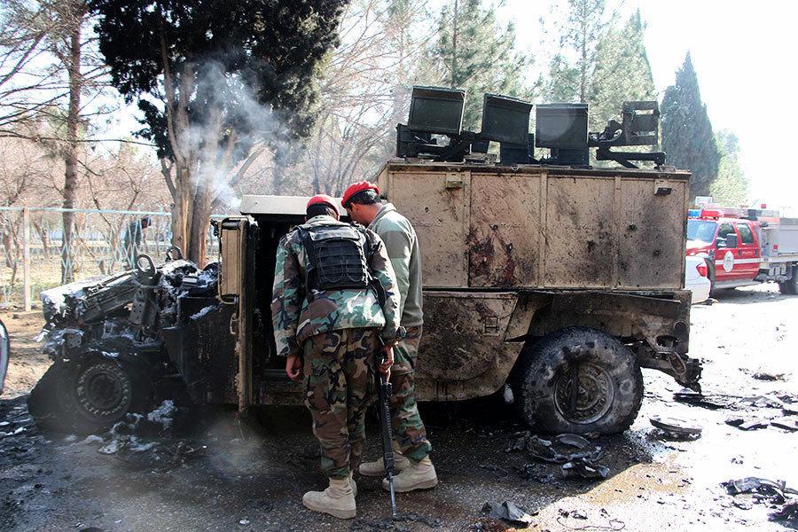 阿富汗發生汽車炸彈襲擊 至少七死二十傷