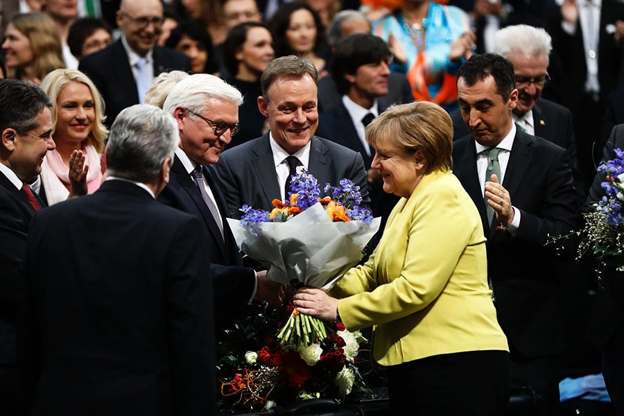 德國選新總統 前外長一輪勝出