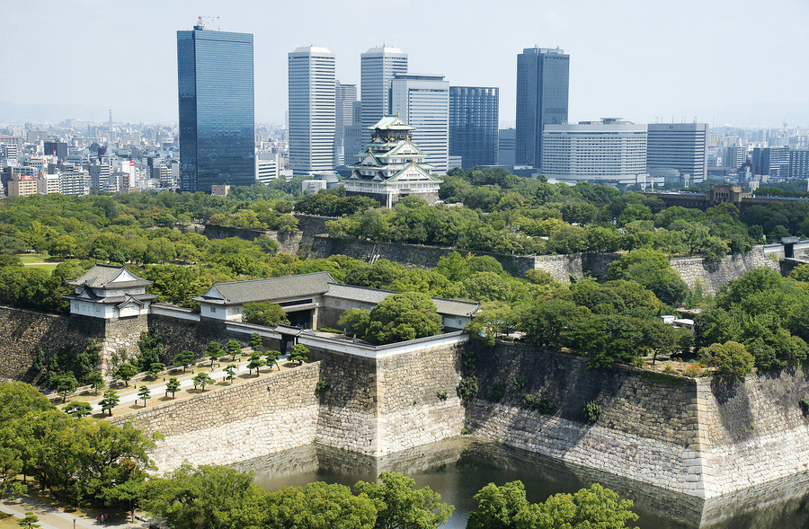 走馬看花遊日本之大阪篇 大阪城