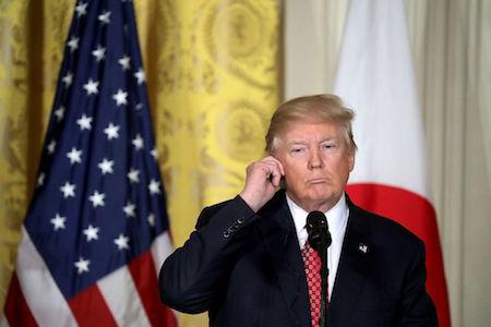 美國官員表示,特朗普政府或將加緊施壓中共,迫使其對北韓的行為加以控制。(Chip Somodevilla/Getty Images)