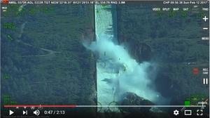 美國最高水壩險潰決 十九萬居民緊急撤離