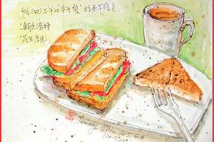 【彩繪生活】(307)最愛三明治
