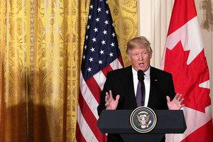 特朗普:將非常強硬地和北韓打交道