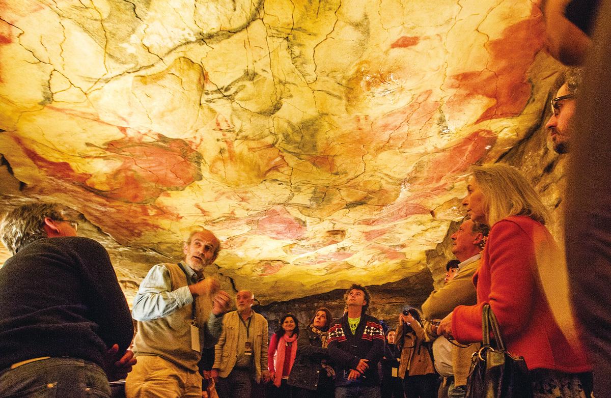 西班牙北部的阿爾塔米拉地區(Altamira)洞穴。(網絡圖片)